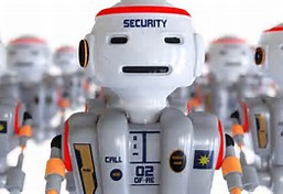 Security Robots on Patrol