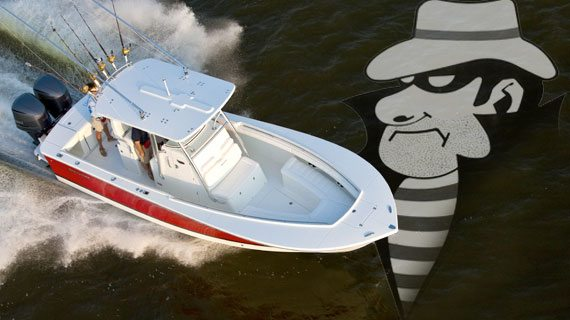 Thwarting Outboard Motor and Propeller Theft
