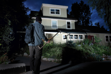 Security Lights That Track Intruders